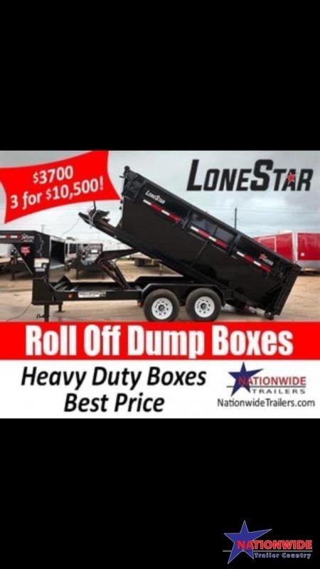 2020 Lonestar 83X14 Roll-Off Bin
