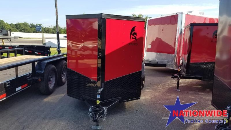 ***PRICE REDUCTION***2019 Spartan 5X10 SA Enclosed Cargo Trailer