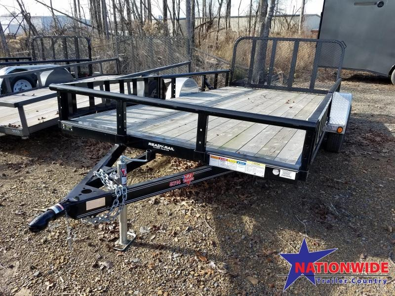 **CLEARANCE**2018 PJ Trailers 83X14 Utility Trailer