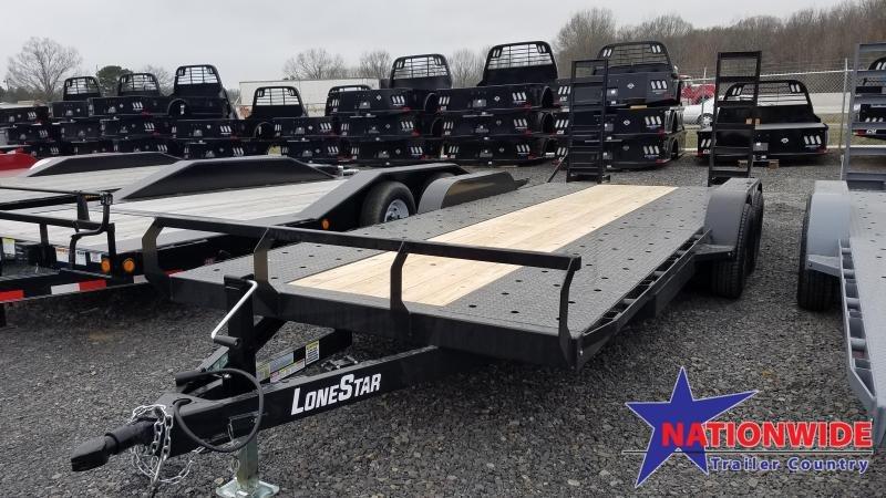 2020 Lonestar 83X20 TA Car / Racing Trailer