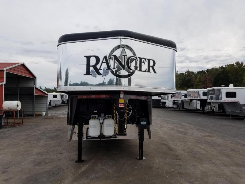 2019 Bison 8413 RANGER Horse Trailer with Living Quarters
