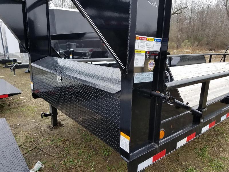 2019 PJ Trailers 83X24 GN Equipment Trailer