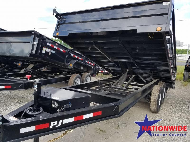 2020 PJ Trailers 96X14 Dump Trailer