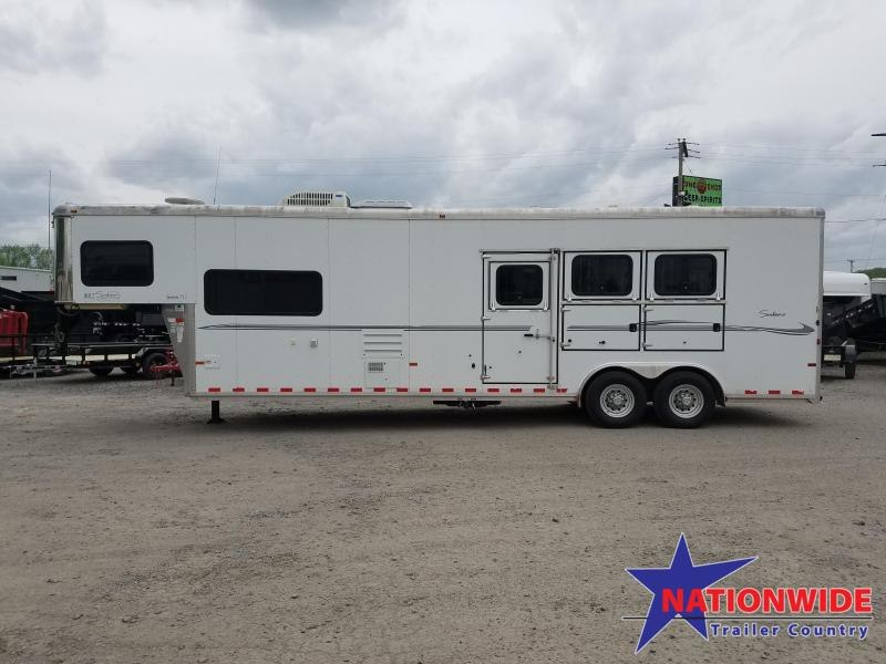 ***MANAGER'S BLOW OUT SPECIAL***2008 Sundowner Trailers SUNLITE 727 Horse Trailer