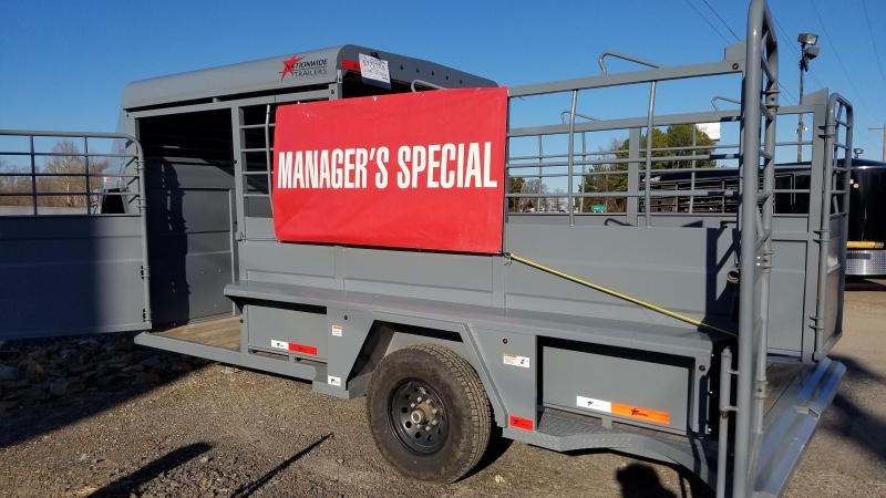 2019 Nationwide Trailer RAWMAXX 16FT Livestock Trailer