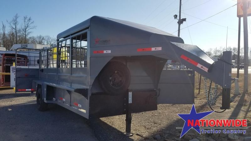 **MANAGER'S DISCOUNT** 2019 Nationwide Trailer RAWMAXX 16FT Livestock Trailer