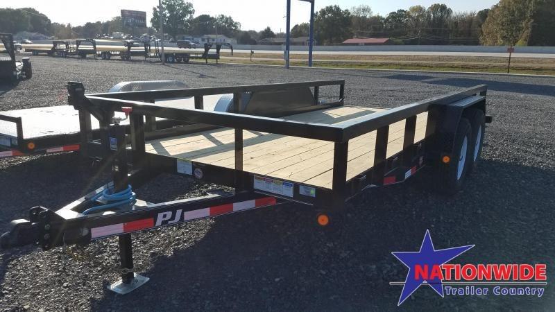 2020 PJ Trailers 83X16 TA ANGLE PIPETOP Car / Racing Trailer