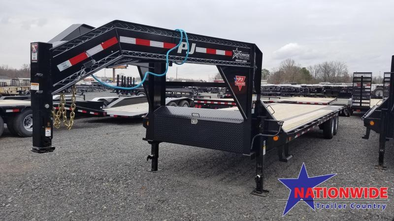 2020 PJ Trailers 30FT LOW PRO Flatbed Trailer
