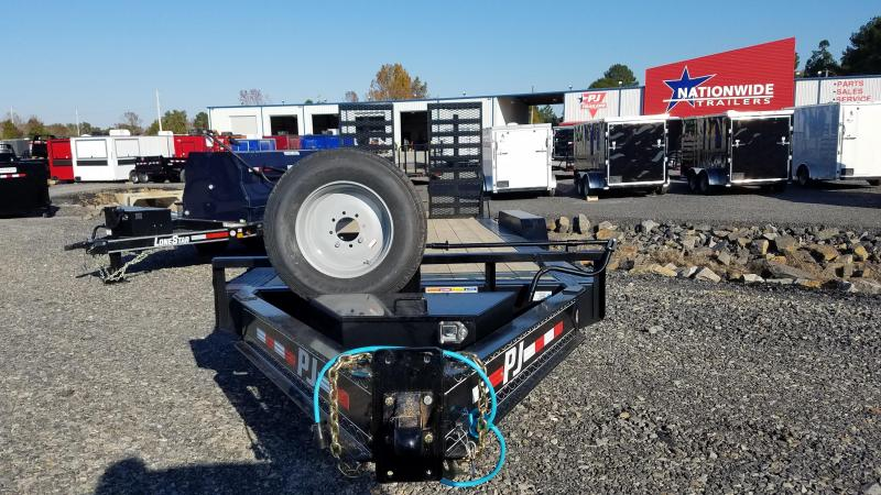 2020 PJ Trailers 82X20 TA Equipment Trailer