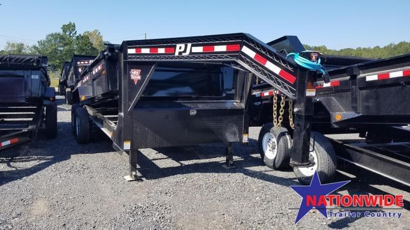 2020 PJ Trailers 83X16 LOW PRO Dump Trailer