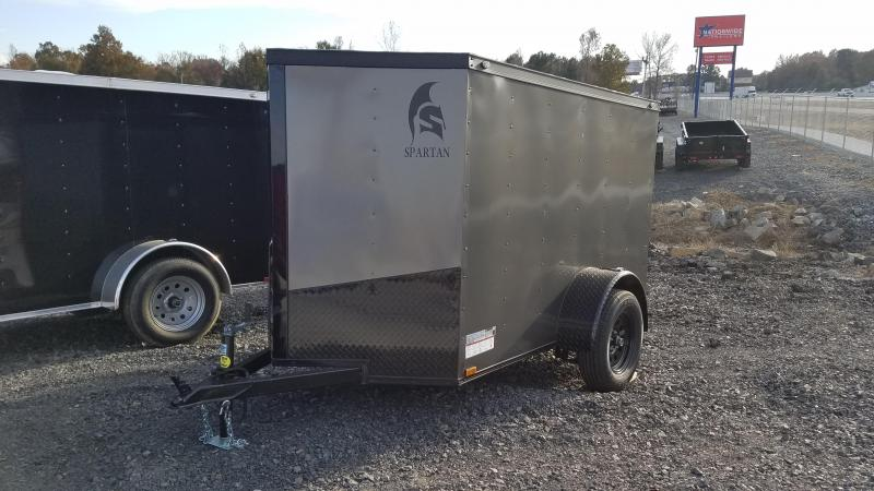 2020 Spartan Cargo 5X8 SA Enclosed Cargo Trailer