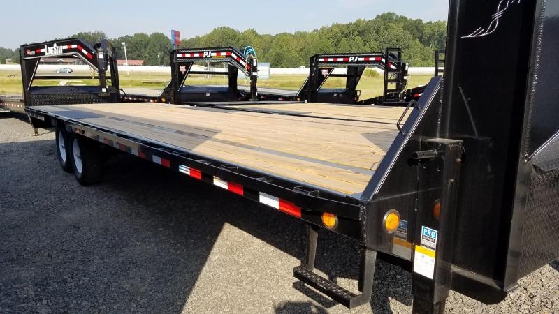 2020 PJ Trailers 28FT LOW PRO Flatbed Trailer