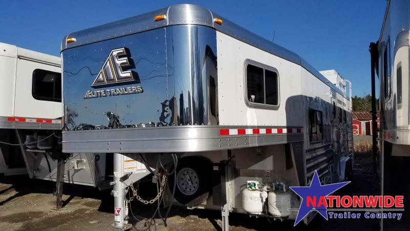 2019 Elite 3 HORSE Trailer with LIVING QUARTERS