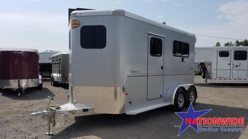 ***PRICE REDUCTION***2020 Sundowner Trailers CHARTER SE 2 HORSE BP Horse Trailer