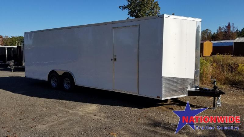 2020 Spartan Cargo 8.5X24 Enclosed Cargo Trailer