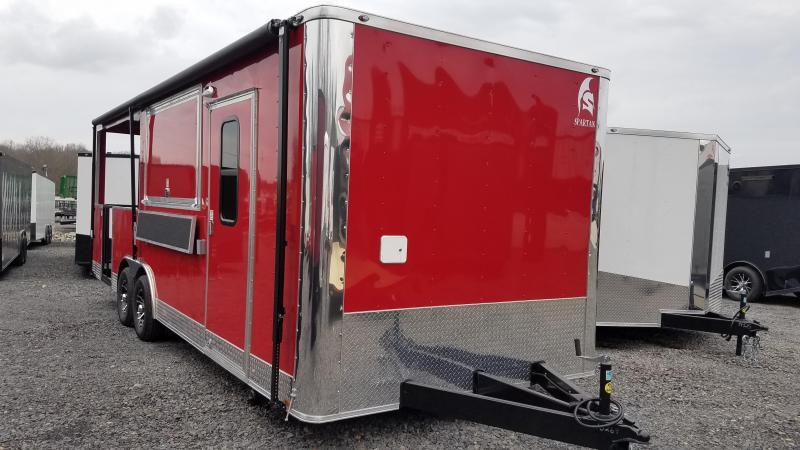 2020 Spartan Cargo 8.5X24 TA Vending / Concession Trailer
