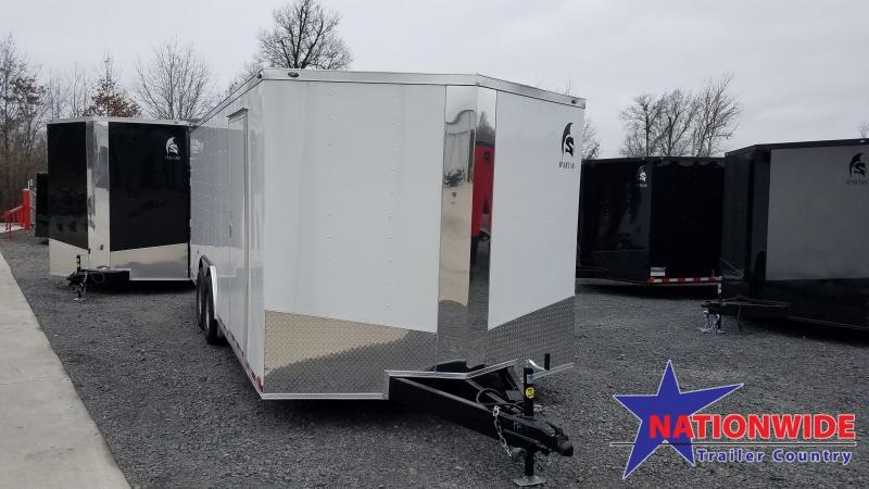 2020 Spartan Cargo 8.5X20 TA Enclosed Cargo Trailer