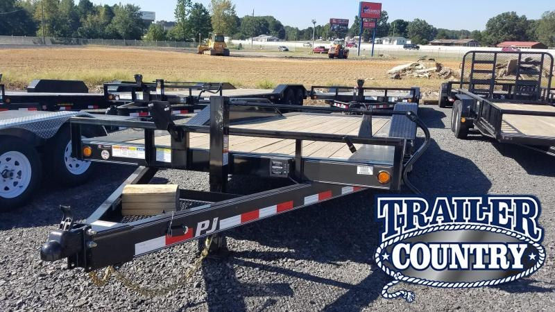 2020 PJ Trailers 20' SUPERWIDE TILIT Car / Racing Trailer