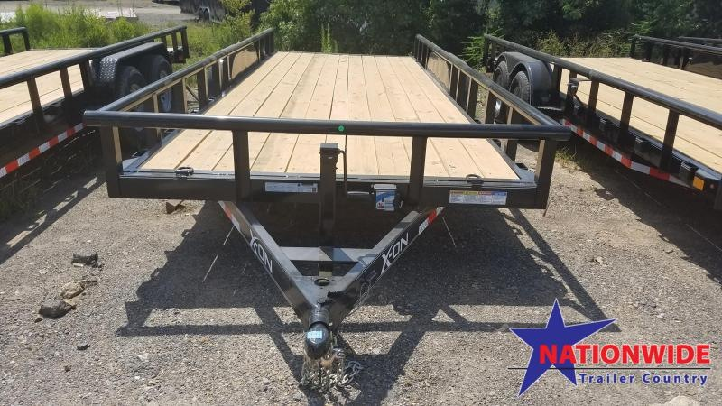 2019 X-On 83X20 Equipment Trailer