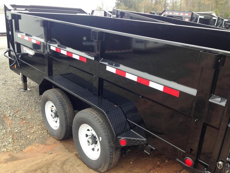 83X14 Gooseneck PJ High Side Dump-3' Sides