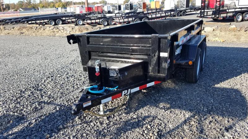 2020 PJ Trailers 5X10 TA Dump Trailer