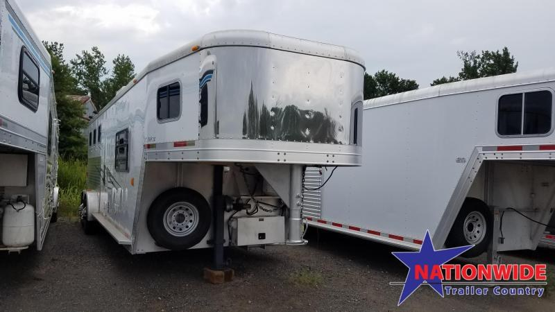 ***PRICE REDUCTION***2002 Exiss 3 HORSE Trailer with Living Quarters