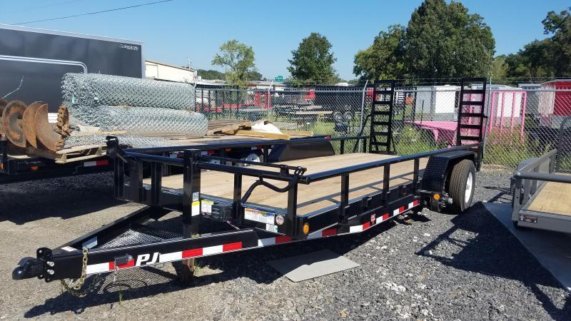 2020 PJ Trailers 83X20 Equipment Trailer