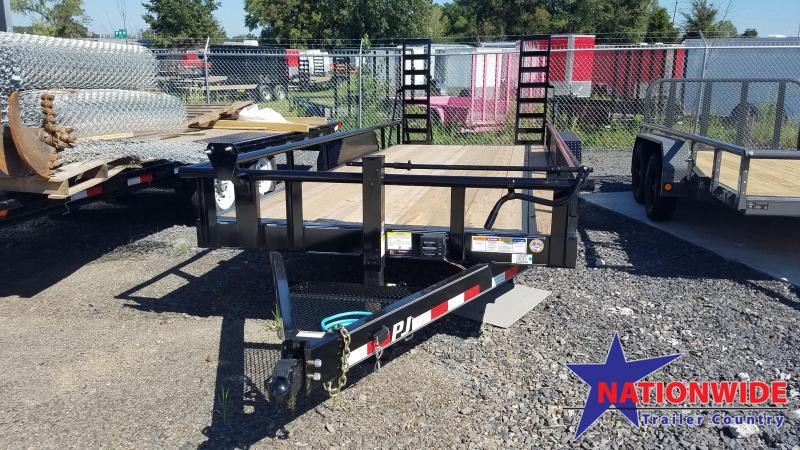 2020 PJ Trailers 83X20 Equipment Trailer