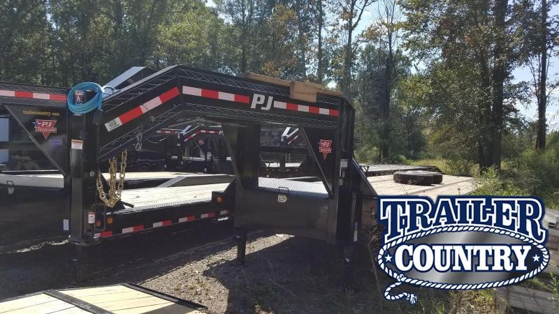 2020 PJ Trailers 40FT LOW-PRO Flatbed Trailer