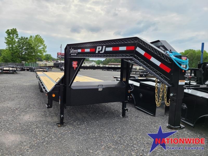 2021 PJ Trailers 102X28 LOW PRO Flatbed Trailer