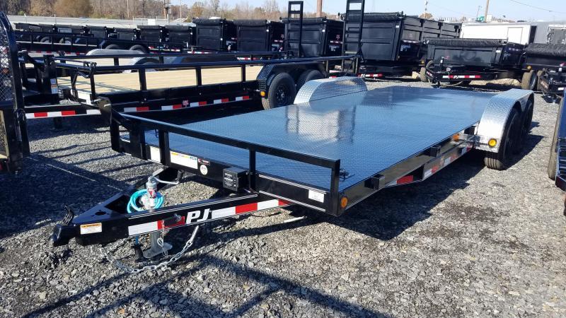 2020 PJ Trailers 83X20 TA Car / Racing Trailer