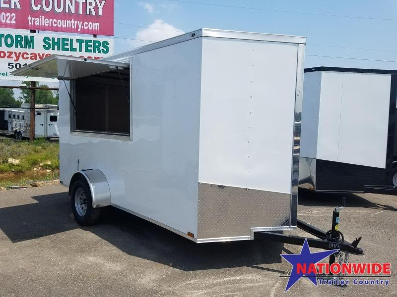 2019 Spartan 6X12 SA Enclosed Cargo Trailer