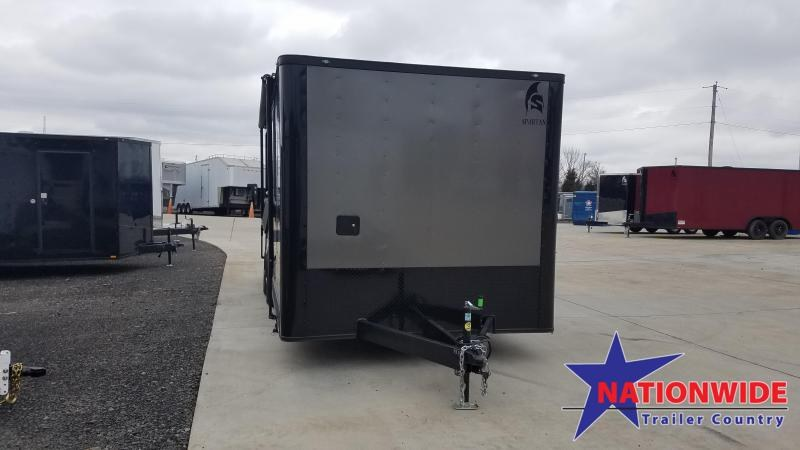 2020 Spartan Cargo 8.5X20 Vending / Concession Trailer