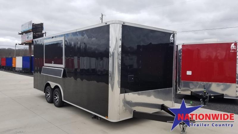 2020 Spartan Cargo 8.5X20 TA Vending / Concession Trailer