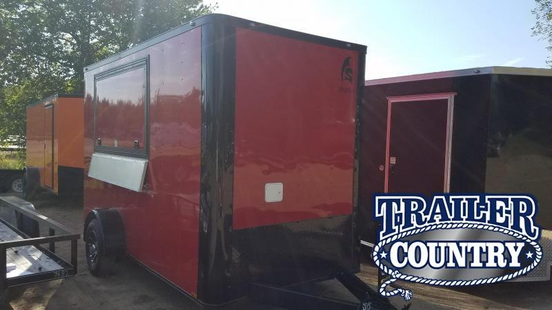 2019 Spartan 6X12 Vending / Concession Trailer