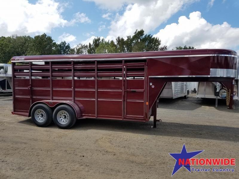 ***PRICE REDUCTION***2019 Delta Manufacturing 500e Livestock Trailer