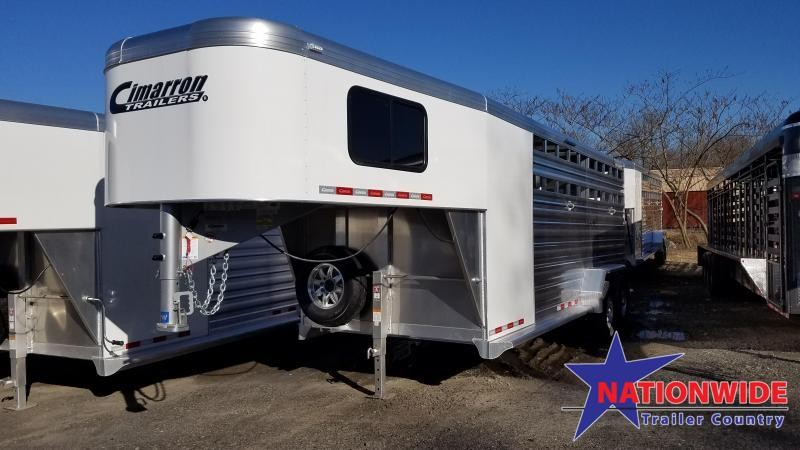 2020 Cimarron Trailers LONESTAR 20FT Livestock Trailer
