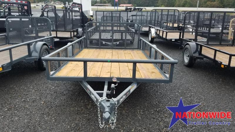 ***PRICE REDUCTION***2019 Lonestar 77X12 SA Utility Trailer