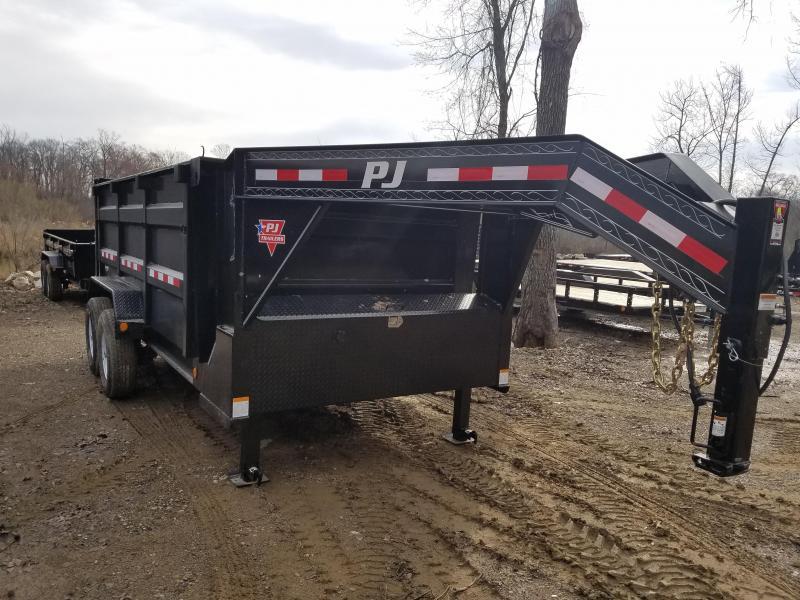 2020 PJ Trailers 83X14 LOW PRO HIGH SIDE Dump Trailer