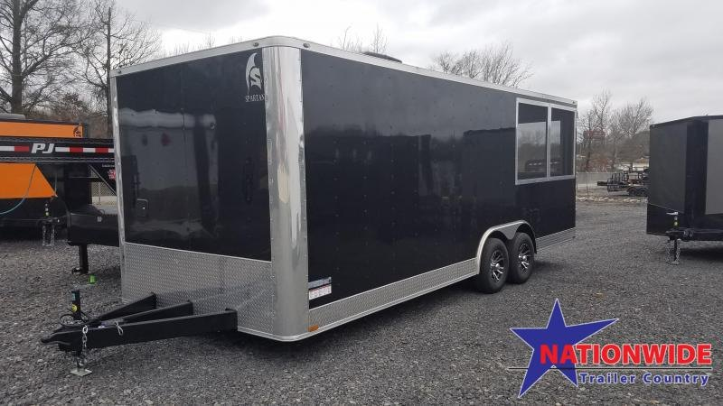 2020 Spartan Cargo 8.5X22 Vending / Concession Trailer