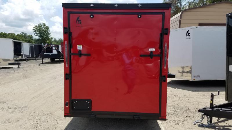 2020 Spartan 6X12 SA Enclosed Cargo Trailer