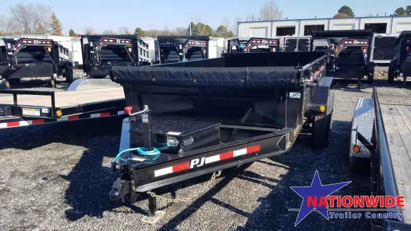 2020 PJ Trailers 83X12 LOW PRO Dump Trailer