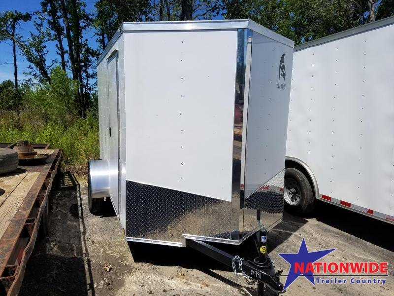 ***PRICE REDUCTION***2020 Spartan Cargo 6X10 SA Enclosed Cargo Trailer
