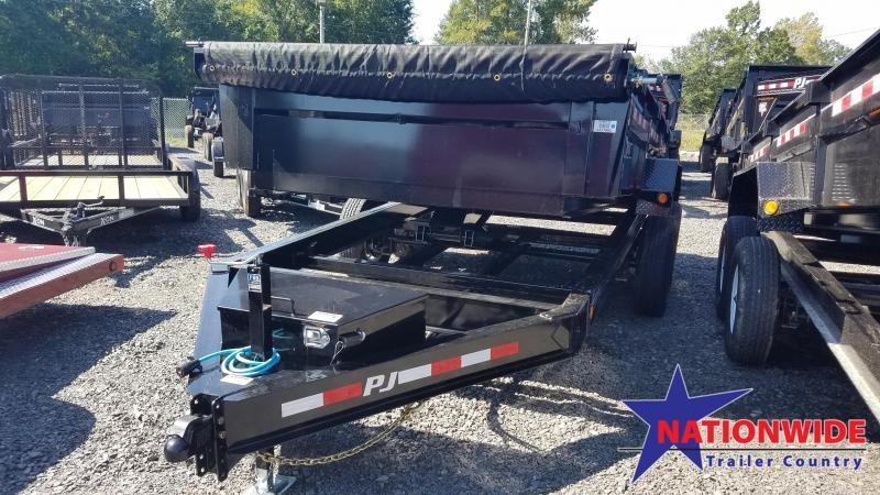 2020 PJ Trailers 83X14 LOW PRO Dump Trailer