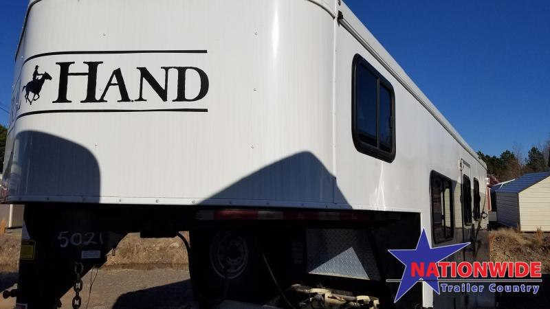 2015 Bison Trailers TRAIL HAND Horse Trailer