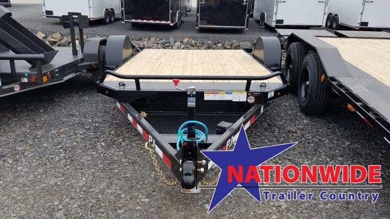 2020 PJ Trailers 81X13 SA HD TILT Car / Racing Trailer