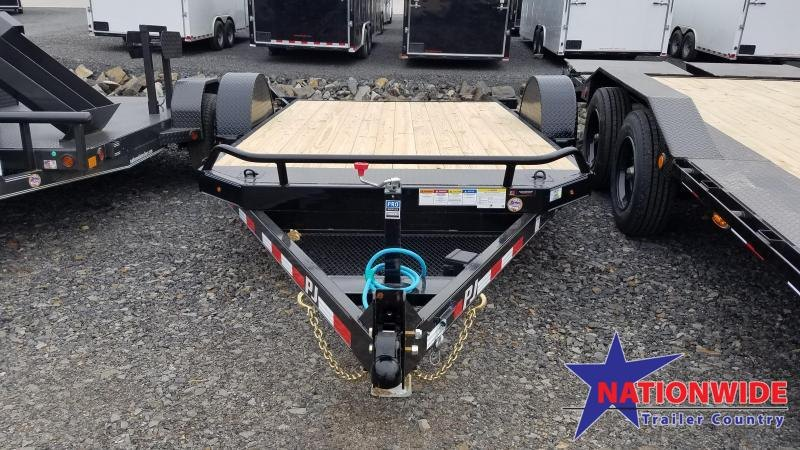 2020 PJ Trailers 81X13 SA HD TILT Car / Racing Trailer