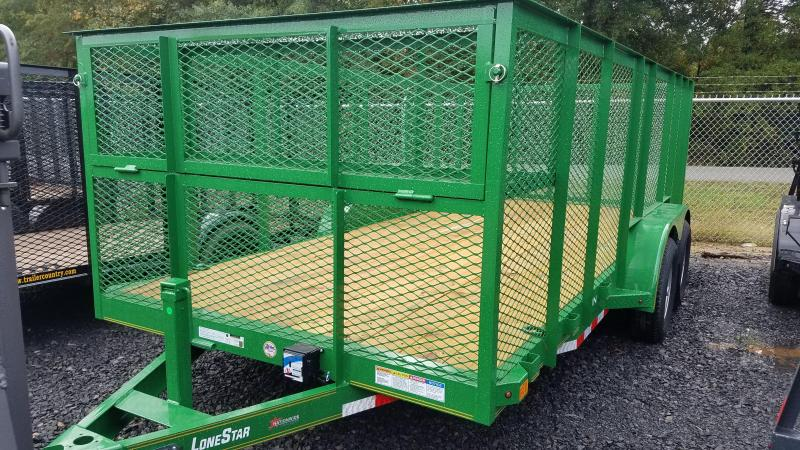2020 X-On 83X16 TA LANDSCAPE Utility Trailer
