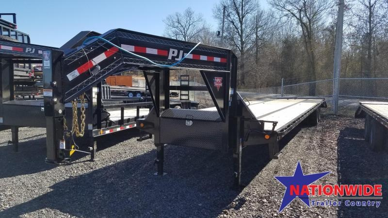 2020 PJ Trailers 40ft low-pro with duals Flatbed Trailer
