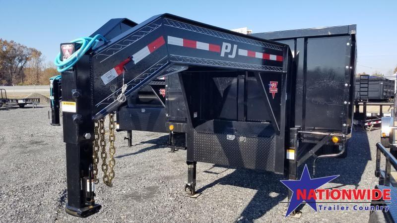 2020 PJ Trailers 83X20 TA DUAL Dump Trailer